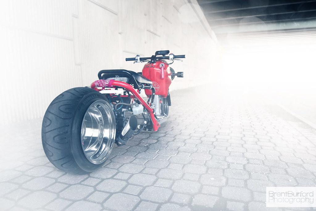 Custom Honda Ruckus | Recently met up with another photograp