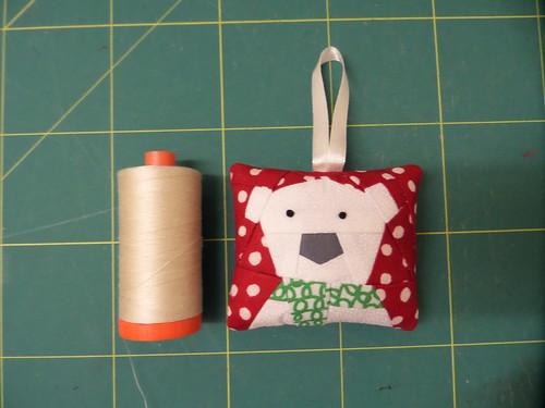 Tiny Polar Bear Christmas decoration
