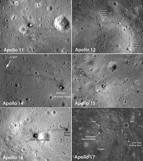 Apollo all LRO views | by cometlynx