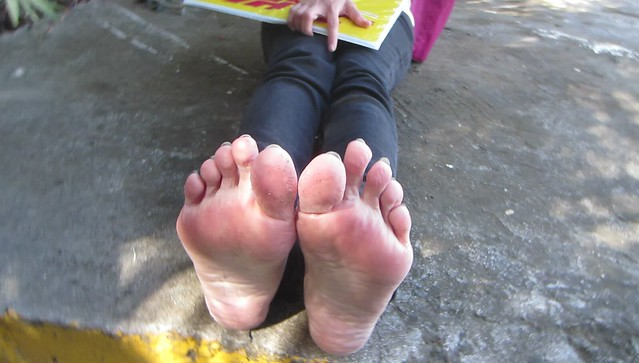 Chinese soles wrinkled size 8