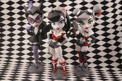 Catwoman, Wonder Woman & Harley Quinn