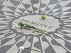 New York – památník Johna Lennona, foto: Luděk Wellner