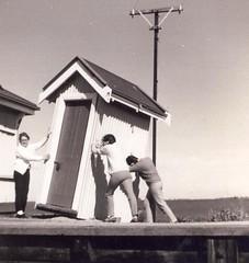 Calomba Railway Station phone box
