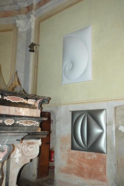 2009 - Clicking the cosmos, a cura di Pina Inferrera, personale al Museo Malandra, Vespolate