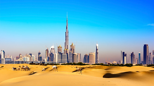 Dubai doorsteps