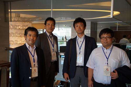 圖11日本此次參與會議的代表合影