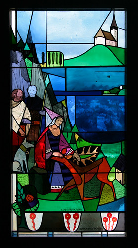 stained glass in Rapperswil castle | by matermorts