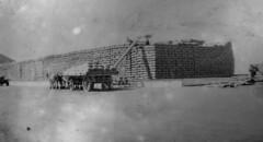 Wheat Stack at Calomba Rail siding 1939