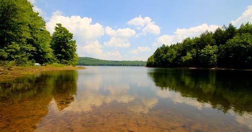 water reflections landscape cove reservoir tamron1024mmlens