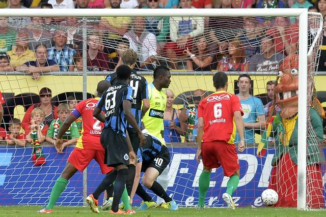 KV Oostende - Club Brugge (4 augustus 2013)