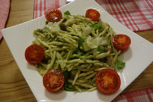 Trofie with genovese paste | by pelican