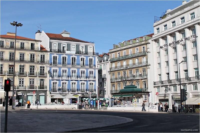 Praça dos Restauradores.