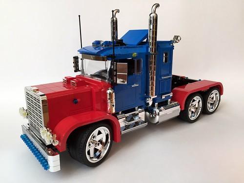 Lego Optimus Prime