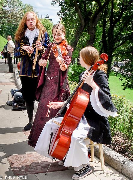 Musicians in Krakow