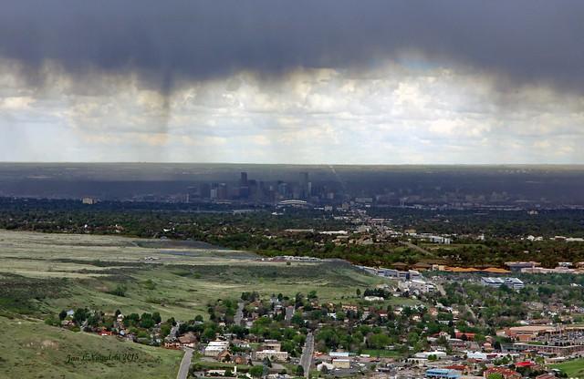 Dark Veil Over Denver