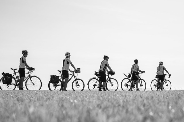 Cyclists, St Bees