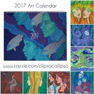 2017 Art Calendar Divine Feminine Collection Of Surre