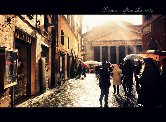 Roma, after the rain