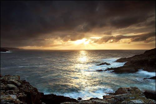 ocean sunset sea cliff cloud lighthouse west point island scotland boat angus north scottish wave spray sail cape sutherland wrath beams higlands clyne strathy saariysqualitypictures flickrhivemindgroup