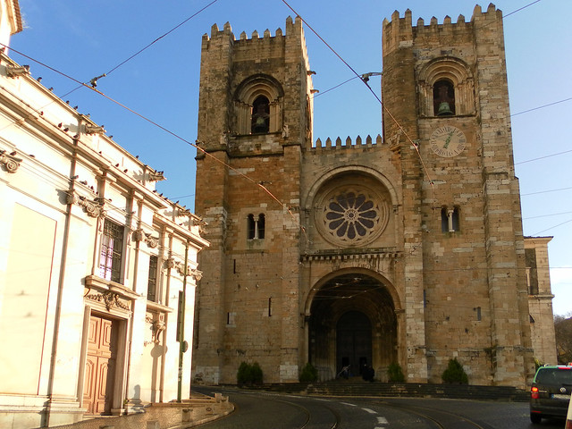 Igreja de Santa Maria Maior - Lisbon, Portugal
