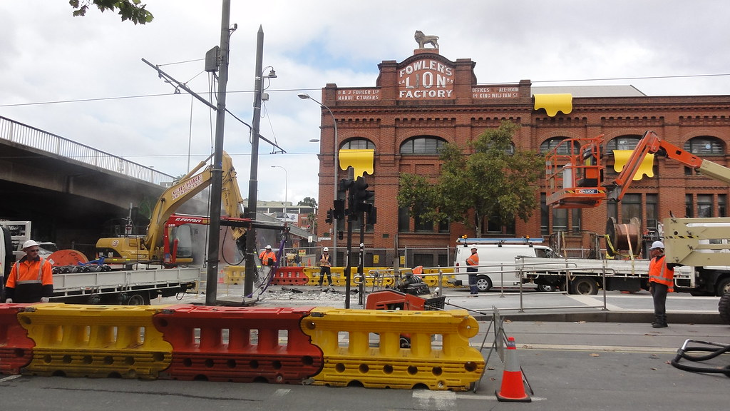 North Tce tramway modifications by Ryan Smith