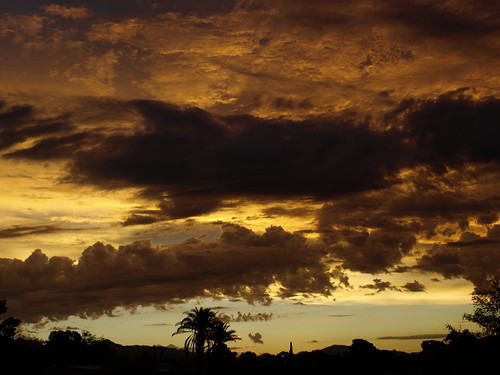 arizona clouds sunrise tucson