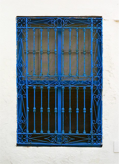 Barred Window 11