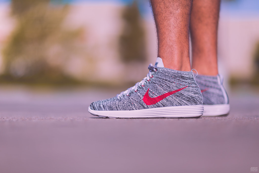 newest 88523 031a6 ... Nike Flyknit Chukka - Wolf Grey   by Jeremy Thomas Photography