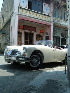 Classic Car - George Town, Penang - Malaysia