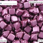 PRECIOSA Pyramids - 111 01 336 - 02010/25031 - Lila Red