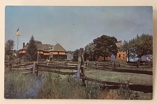 Manassas, Virginia postcard