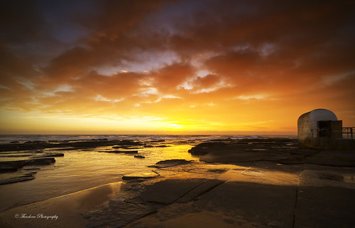 sky colour beach water clouds sunrise newcastle photography merewether theodora mygearandme mygearandmepremium dorcam16