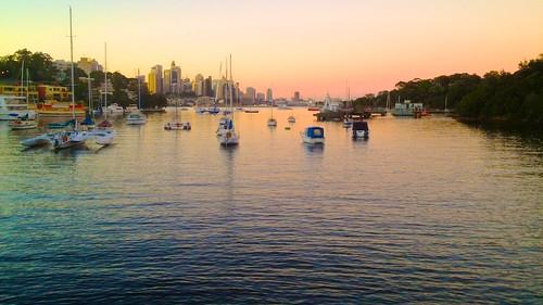 sunrise boats dawn time sydney australia nsw yachts northsydney sydneyharbour 2012 waverton parramattariver berrysbay photospecs andyburton wavertonpark aperture33 iphone4s flickrexport403