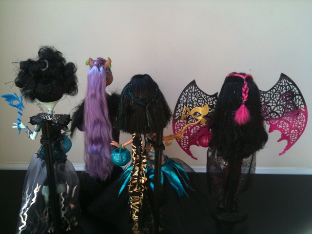 ghouls rule back of hair