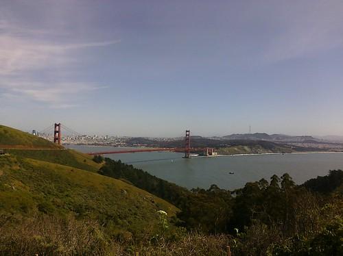 Golden Gate Bridge and San Francisco Seen from the Marin Headlands