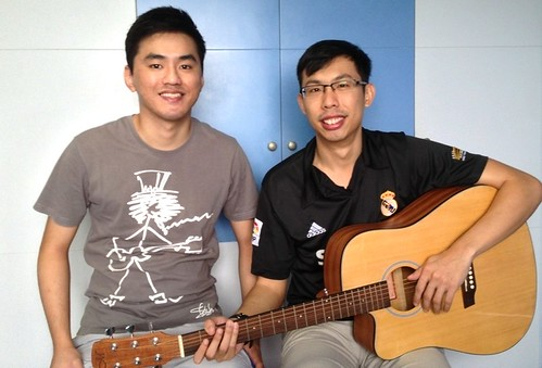 Adult guitar lessons Singapore Darric