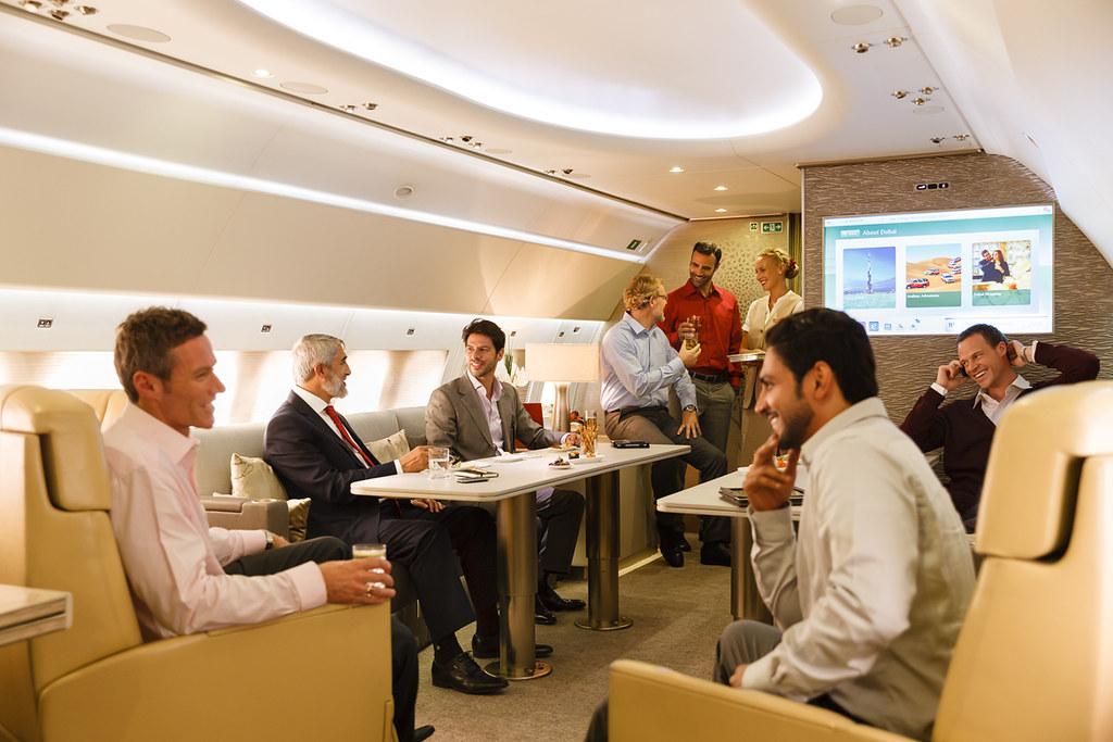 Emirates' Airbus 319 Luxury Private Jet Service 'Emirates Executive'