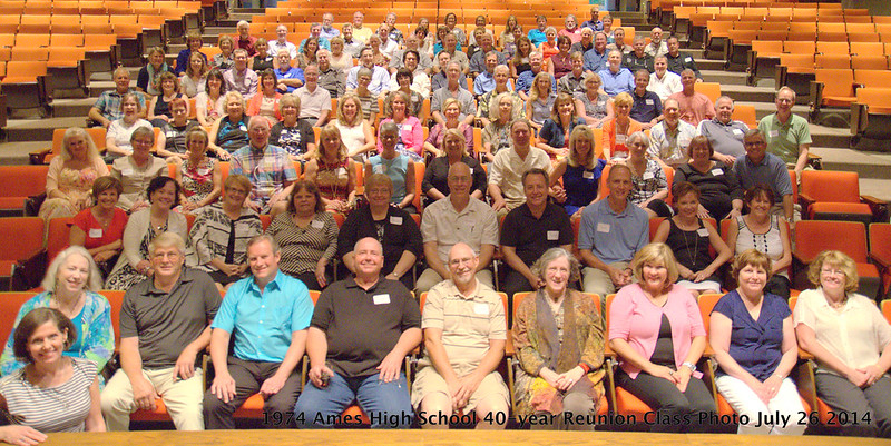 AHS Class of 1974 group photo