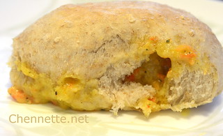 Cheese Paste Hops Bread Roll | by Chennette