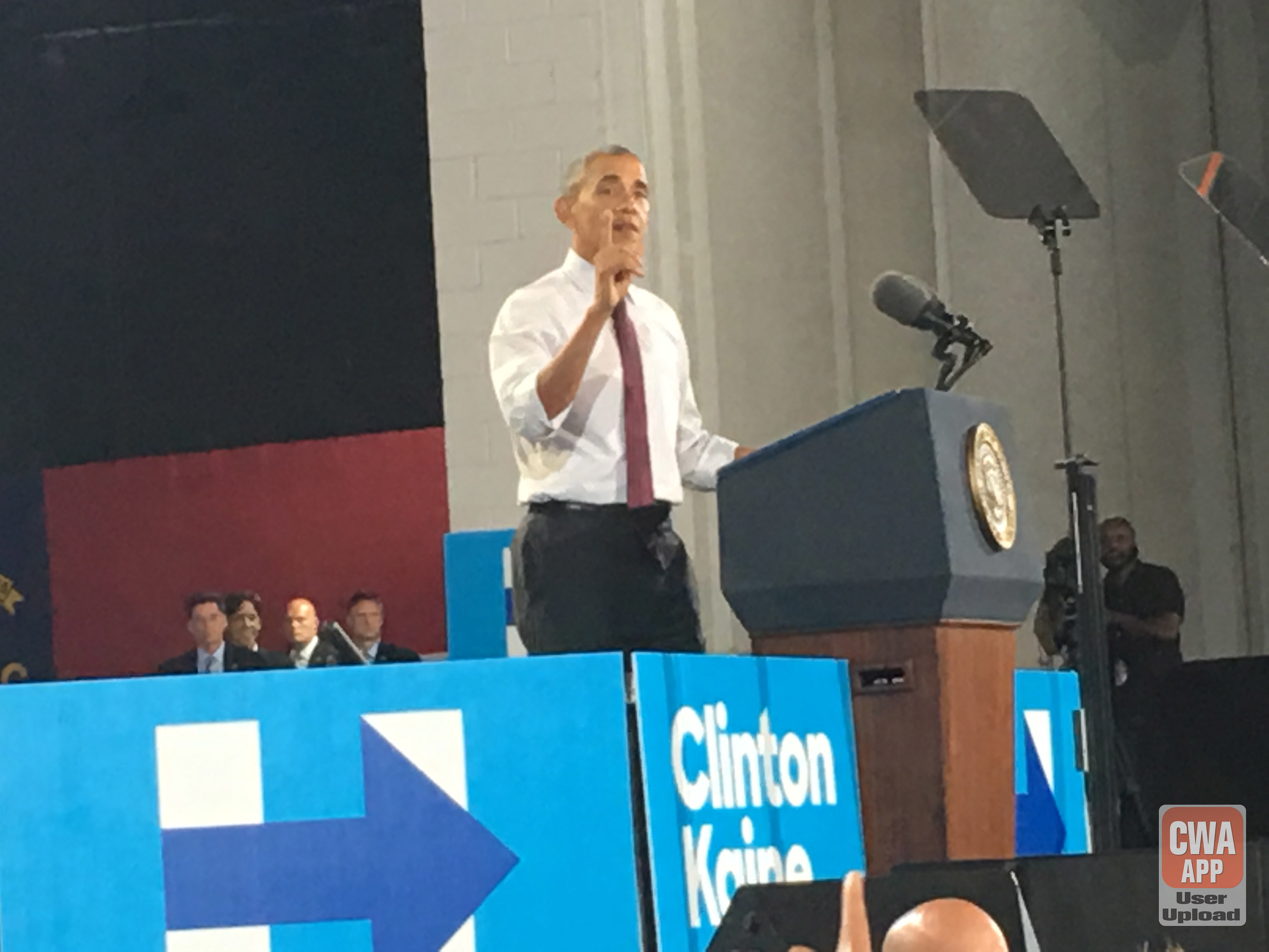 President Obama GOTV Rally - Charlotte