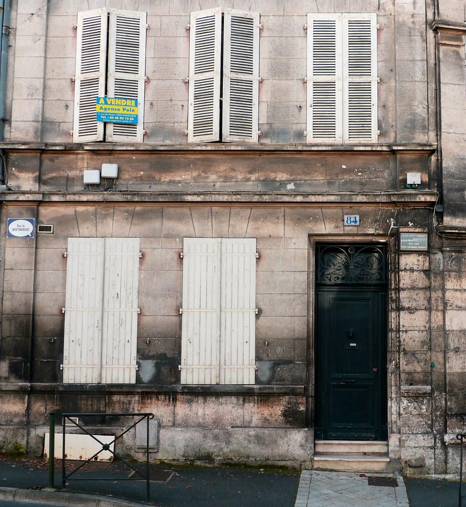 Sculpteur Peintre Et Poete Francais angoulême, charente: maison d'enfance de pierre albert-bir