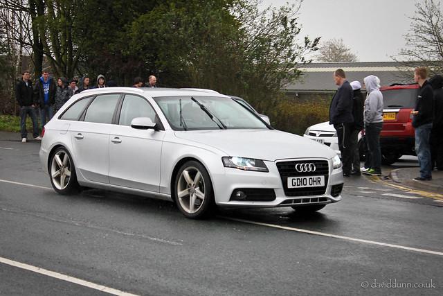 Unmarked Police Audi A4 Avant - GD10 OHR