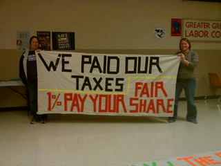 Green Bay Tax Day Action | by WisconsinJobsNow