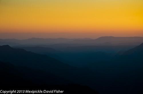 california sunset vacation mountains june yosemite layers 2013