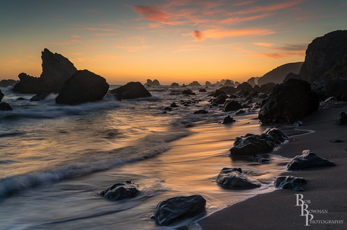 light sunset sea seascape color reflection beach water clouds nikon rocks waves sonomacounty seastacks d600 sonomacoast sonomacountycoast sonomacoastline lightroom5 rmbimages robertmbowmanimages