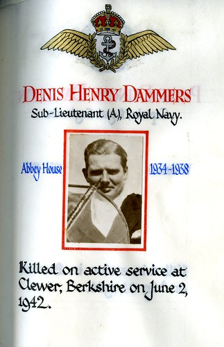 Dammers, Denis Henry (1920-1942) | by sherborneschoolarchives