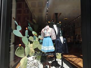 D&G shop, Milan, Italy