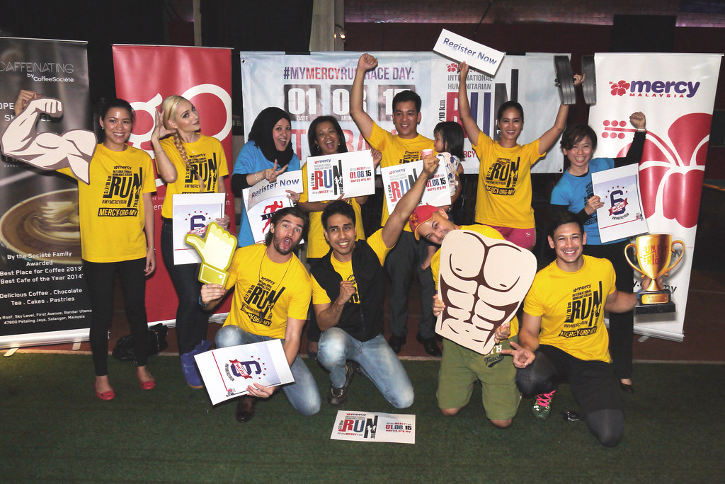 MERCY MALAYSIA LAUNCHES 2ND CHARITY RUN FOR INTERNATIONAL HUMANITARIAN AID