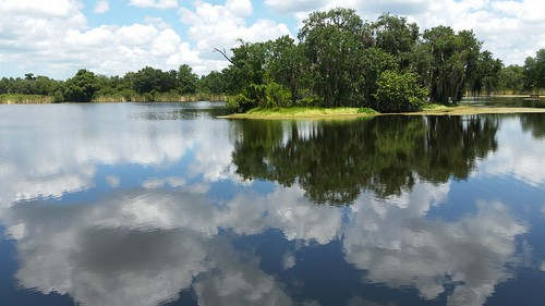 nature lake florida fl water reflection sky clouds landscape island ngc continuity