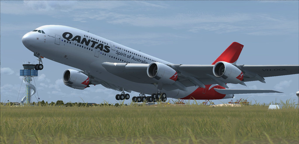 A380 V1,Rotate at Sydney | MapleLeaf FSX & Photography | Flickr